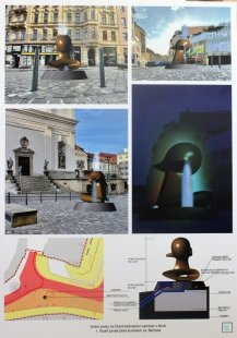 Vodní prvky na Dominikánském náměstí v Brně - výsledky soutěže - 2. místo - foto: Stefan Milkov