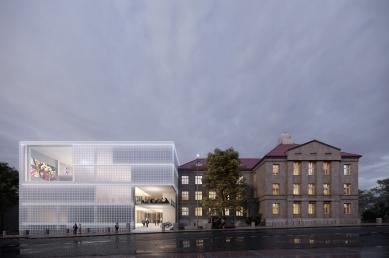 Keramickou školu v Karlových Varech přestaví Petr Hájek Architekti - foto: Petr Hájek Architekti