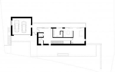 Když se potkají představy architekta aklienta - Půdorys přízemí - foto: Olaf Herzog