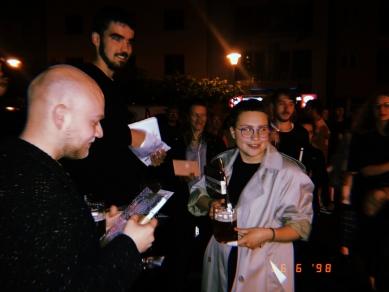 Ještěd s klece 24 - slavnostní vyhlášení - Vokno - foto: archiv Ještedu f Kleci