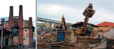 Demolice industriálního dědictví v Klatovech - dosud není rozhodnuto - foto: Václav Fiala