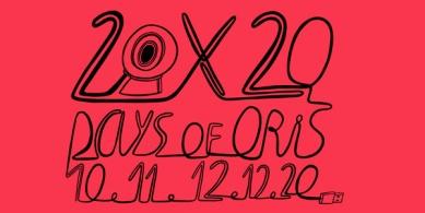 Cyklus přednášek Days of Oris 20 - on-line festival