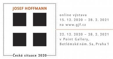 Josef Hoffmann : Česká situace 2020 - výstava v Point Gallery