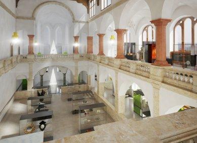 Po tříleté obnově dnes otevřeli Severočeské muzeum v Liberci - foto: Hlaváček - architekti, s.r.o.