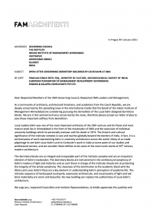 Open Letter to the Board of Councillors, Indian Institute of Management, Ahmedabad