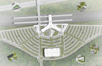 Vysokorychlostní terminál Praha východ navrhnou ov-architekti