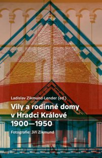 Vychází kniha o architektuře vil a rodinných domů vHradci Králové - Obálka knihy