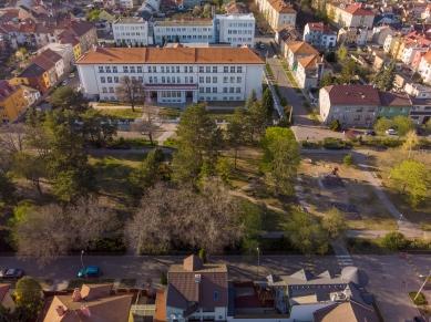 Obnova parku na Mírovém náměstí vHodoníně