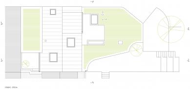 Rodina si na dně lomu zrekonstruovala vlaštovčí hnízdo - Půdorys střechy - foto: KAMKAB!NET