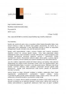 Odpověď SPGBR na otevřený dopis ředitelky Mgr. Kateřiny Melenové