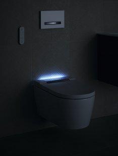 Puristicky elegantní design do každé koupelny - Geberit AquaClean Sela orientační světlo