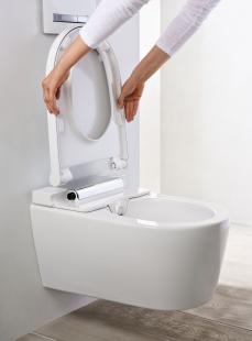 Puristicky elegantní design do každé koupelny - Jednoduché odnímání WC krytu a sedátka