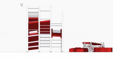 Instalace OFF FENCE na Benátském bienále architektury 2021