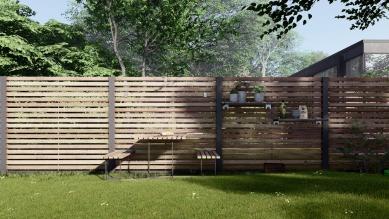 Sofistikovaný systém oplocení jako řešení pro zahrady s nedostatkem místa