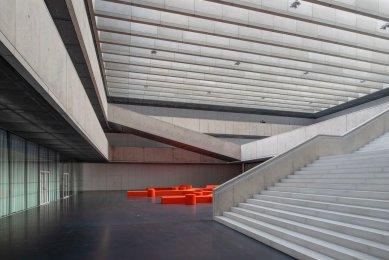 Do 6. ročníku České ceny za architekturu se přihlásilo 170 děl - Fakulta humanitních studií UK – přestavba menzy Koleje 17. listopadu, Kuba & Pilař architekti