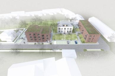 Městské bydlení Polička - vítězný projekt - foto: Apropos Architects