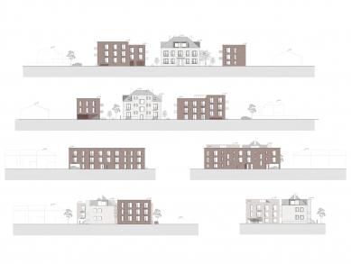 Městské bydlení Polička - vítězný projekt - Pohledy - foto: Apropos Architects