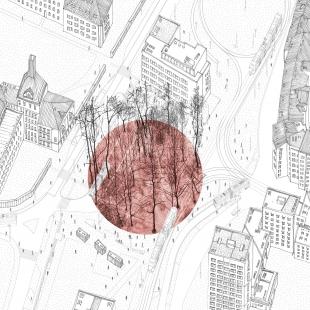 Mendlovo náměstí v novém - rušný dopravní uzel se promění - foto: CHKAA