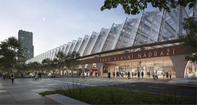 Soutěž na nové brněnské hlavní nádraží vyhráli nizozemští Benthem Crouwel - 1. cena - Benthem Crouwel International B.V.