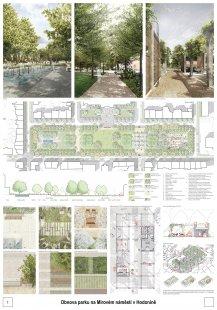 Výsledky soutěže na obnovu Mírového náměstí v Hodoníně - 1. místo – MAAUS s.r.o.