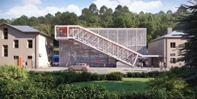 Nádraží v Adamově zrekonstruuje za 834 milionů korun Swietelsky Rail CZ - foto: Správa železnic ČR