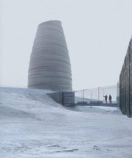 Snøhetta: Arctic Nordic Alpine - Arctic World Archive Visitor Center - foto: Snøhetta and Plomp