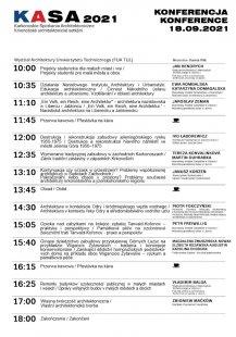 KASA 2021 - Krkonošské architektonické setkání