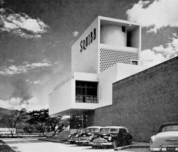 Moderní architektura v Kolumbii - Fabrica Squibb, Cali, Jorge Arango, 1953