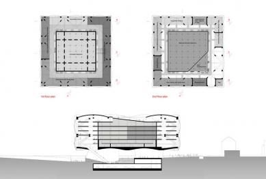 Otevřený dopis: Stížnost na  prezentaci soutěžních návrhů NK - foto: 4A architekti