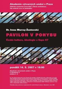 Přednáška Ireny Murray-Žantovské Pavilon v pohybu