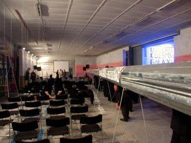 Cena ARCH 2005 byla udělena - Tranzit dielne a prostorová instalace Stana Filky - foto: Petr Šmídek