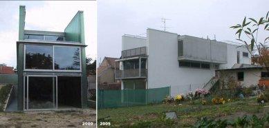 Cena ARCH 2005 byla udělena - Skleněný dům ve Stupavě už není skleněný - foto: ksa. + Petr Šmídek