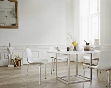 Příběh skandinávské moderny IV. - Poul Kjærholm, stůl PK58 - foto: Fritz Hansen