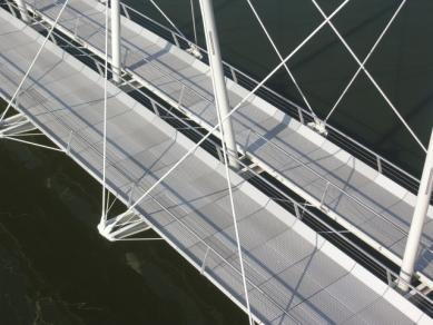 René van Zuuk Architekten: Projects 1992-2007 - Bridge Almere - foto: René van Zuuk Architekten