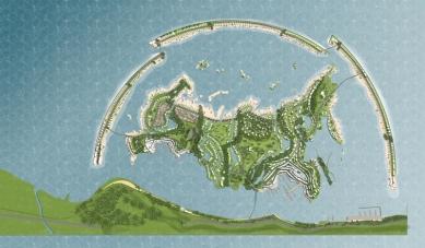 Erick van Egeraat představuje projekt souostroví v Černém moři - foto: © /EEA/ Erick van Egeraat associated architects