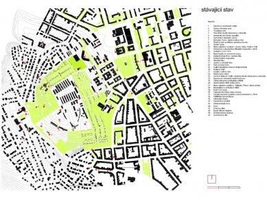 Akademické náměstí a fenomén Kraví hora - Stávající stav areálu Kraví hora - foto: www.naseprojekty.xf.cz