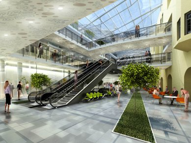 V centru Ostravy vznikne nový obchodní dům - foto: PROJEKTSTUDIO