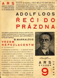 Adolf Loos: Ornament a zločin - foto: archiv redakce