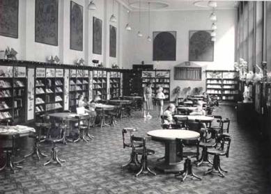 Roithova Ústřední knihovna osmdesátiletá - Dětské oddělení, 20-30. léta
