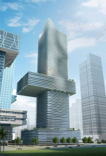 V Šen-čenu vyroste sídlo China Insurance Group od Coop Himmelb(l)au