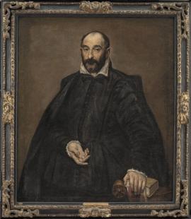 Výstava Andrea Palladio - His Life and Legacy - El Greco: Andrea Palladio, kolem 1570–75. olej na plátně, 116 x 98 cm - foto: Statens Museum for Kunst, Copenhagen