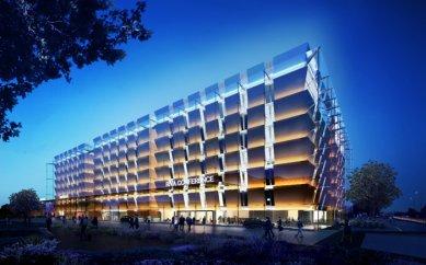 Foster + Partners navrhli pětihvězdičkový hotel u londýnského letiště Heathrow - foto: Foster + Partners