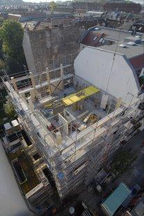 Berlínská vícepodlažní budova na bázi dřevostavby smateriály FERMACELL je v Německu unikátem