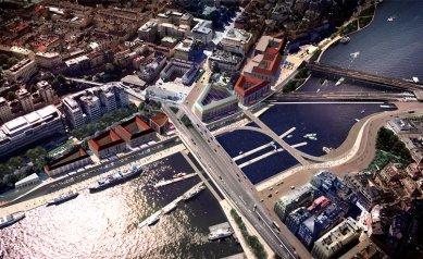 Stockholmský Slussen bude revitalizován dle návrhu Foster + Partners - foto: Foster + Partners