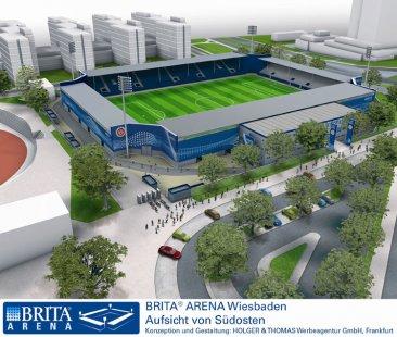 Modulární výstavba a sádrovláknité desky FERMACELL - BRITA Arena