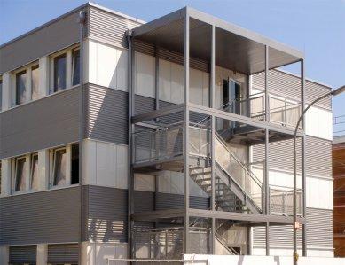 Modulární výstavba a sádrovláknité desky FERMACELL - Administrativní centrum AUDI, Ingolstadt