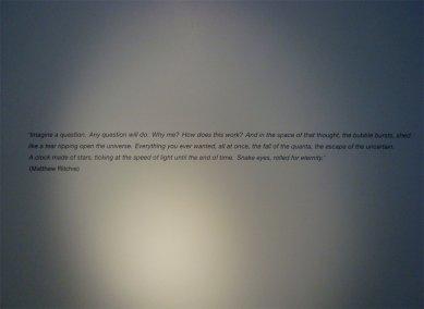 Matthew Ritchie: The Last Scattering - foto: Rasto Udzan