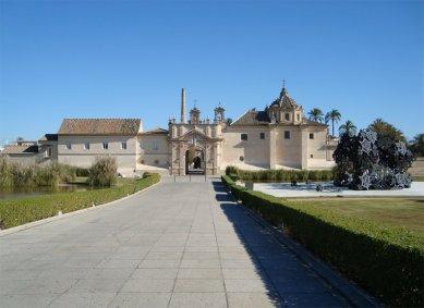 Matthew Ritchie: The Last Scattering - The Morning Line vystavené ve španělské Seville v roce 2008 - foto: Rasto Udzan