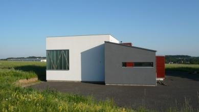 Architekt Pavel Horák použil na komerční objekt vKunicích materiály FERMACELL - foto: Pavel Horák
