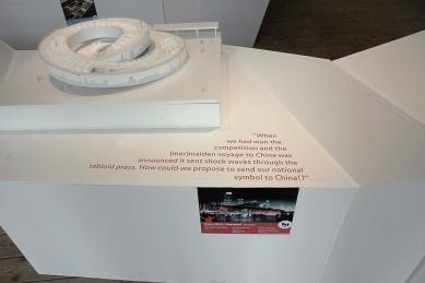 "Výstava ""Deadline Today! 99+ stories on architectural competitions"" - foto: Helena Doudová"